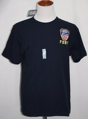 NWT FDNY T-Shirt Large Officially Licensed by New York City Fire Department SS