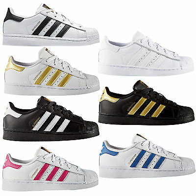 Adidas Originals Superstar Kids Sneakers Sneakers Shoes Boots NEW