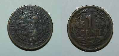 Netherlands : One Cent 1916