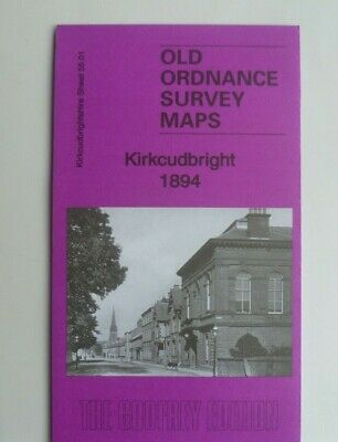 Old Ordnance Survey Detailed Maps Kirkcudbright  Scotland 1894 Godfrey Edition
