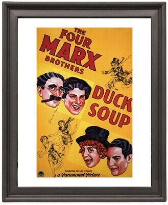 Duck Soup 1  - Picture Frame 8x10 inches - Poster - Print - Poster - Print