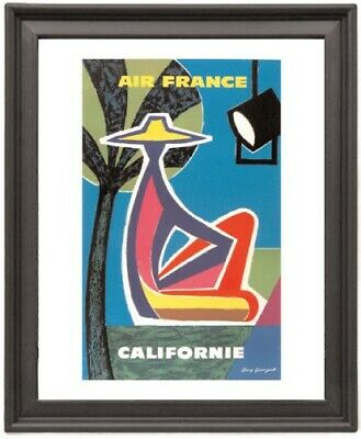 California french - Picture Frame 8x10 inches - Poster - Print - Poster - Print