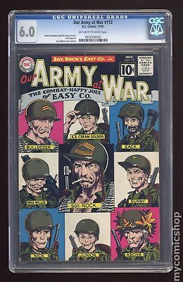 Our Army at War (1952) #112 CGC 6.0 0932936003