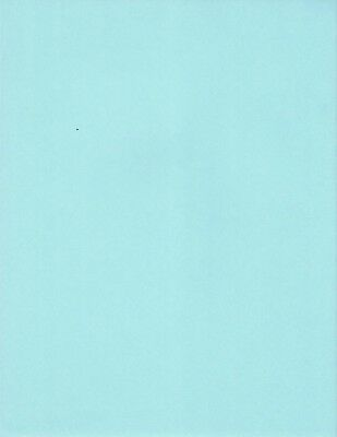 Scrapbook Paper Blue Aqua 8.5 x 11 - 4 Sheets
