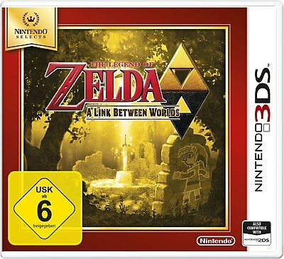 Legend of Zelda - A LIEN Between Worlds (Selects) Nintendo 3DS Nouvea et OVP