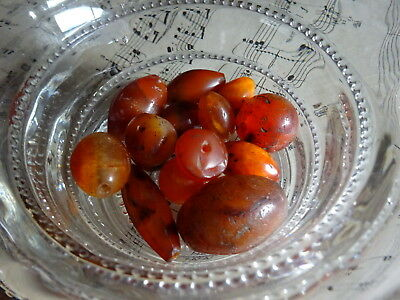 A Superb Collection of Ancient Carnelian & agate Beads Roman Egyptian