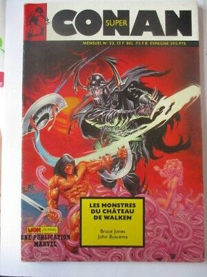 Super Conan N)° 23 Mon Journal Bruce Jones John Buscema