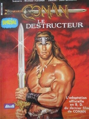 CONAN LE DESTRUCTEUR L 'adaptation officielle en BD du film Buscema Fleisher