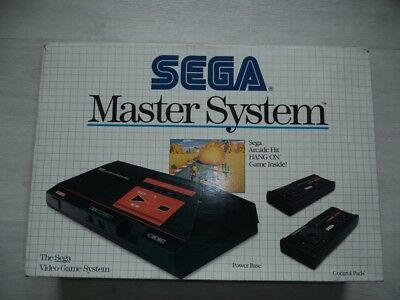 Console Sega Master System 1 Pack Hang On Pack Francais