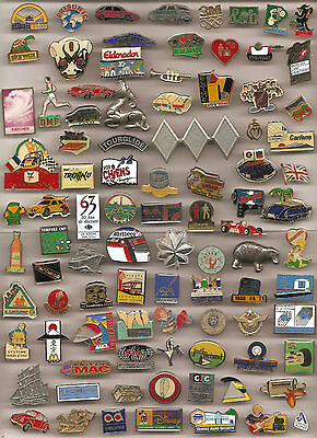 Lot De 92 Pin's Divers Sans Attaches (Ref 007)