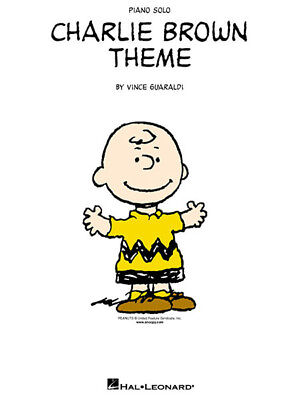 Charlie Brown Theme Peanuts by Vince Guaraldi Piano Solo Sheet Music NEW