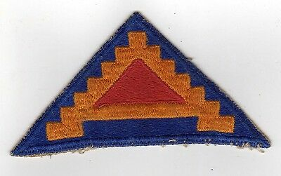 WWII ORIGINAL Seventh United States Army PATCH WWII USA 7th SEVEN STEPS Military