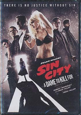Frank Millers SIN CITY: A Dame to Kill For (DVD, 2014, Canadian) BRAND NEW