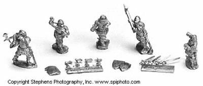 Old Glory Agincourt War 25mm French Men-at-Arms - Dismounted Pack MINT