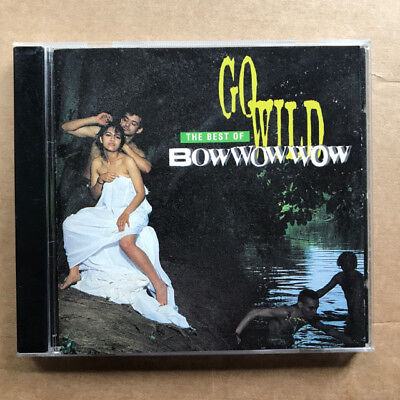 Bow Wow Wow Go Wild - The Best Of Cd 1994 Compilation Uk