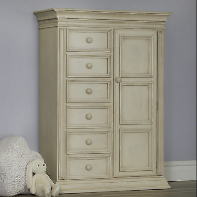 Baby Cache Vienna Chifferobe - Antique White