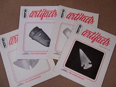 """4 Copies Of The Journal """"artifacts"""", Complete Year For 1984"""