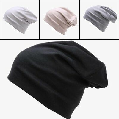 Men s Cotton Cool Beanie Slouch Skull Cap Long Baggy Hip-hop Winter Hat Hot 78086af81aac