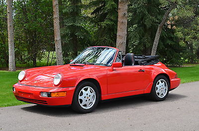 1991 Porsche 911 Carrera 2 Carrera 2 Cabriolet-Tiptronic-Carefully Owned and Operated-Recent Top & Tires