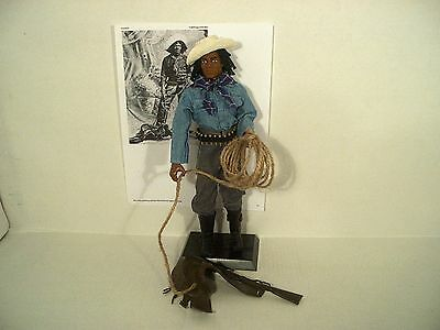 "Nat Love Old West cowboy marksman rodeo Deadwood Dick 12"" figure 1/6"