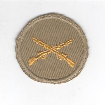 WW 2 US Army Infantry Cap Patch Inv# Y917