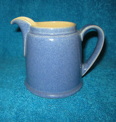 Denby Stoneware Juice 4 Inch Jug - Blue / Yellow