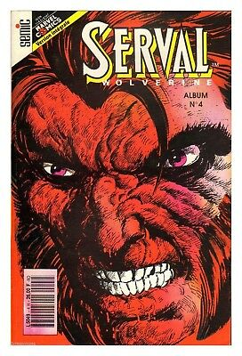 COMICS MARVEL SEMIC SERVAL  ALBUM 4 n° 10/11/12 1991  TBE