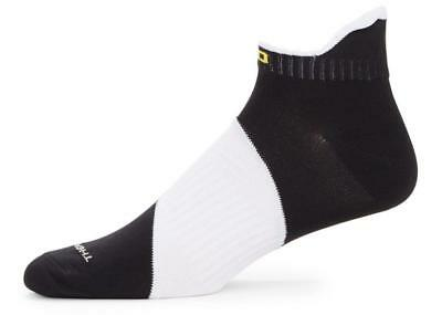 Polo Sport Men's Black & White Sporty Ankle Performance Low Cut Socks Lot of 2