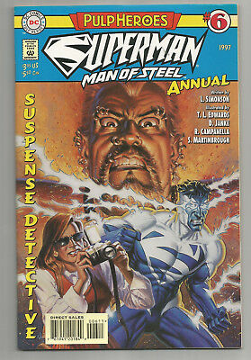 Superman Man Of Steel Annual # 6 * 1997