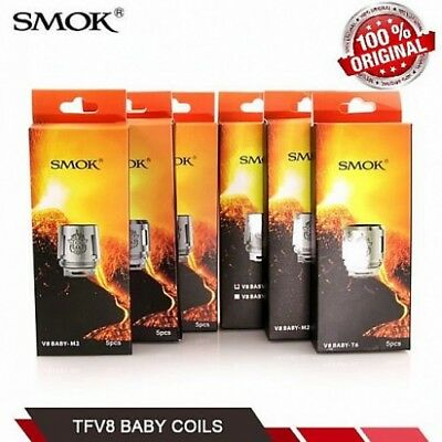 100% Original SMOK TFV8 Baby Coils For V8 -T8 T6 X4 Q2 M2 Beast Replacement Coil