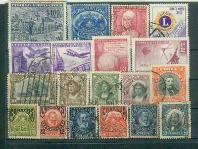 Lot Briefmarken aus Chile