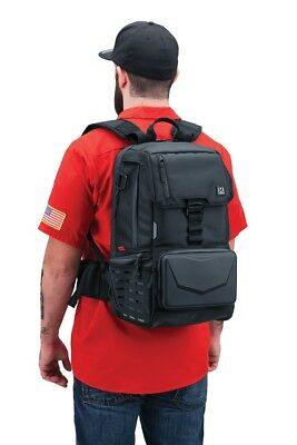 DISPATCH Motorcycle Backpack w Back Support TSA Approved Carry On Laptop Sleeve