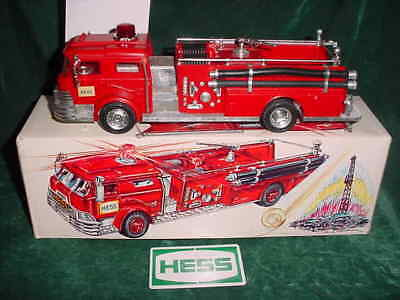 1970 Rare Christmas Collectible1970 Red Fire Truck W Box And Roatating Light