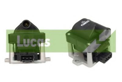 Lucas Ignition Coil with Module DAB427 Replaces 004028149,004050016,6N0905104