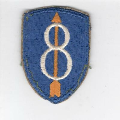 WW 2 US Army 8th Infantry Division Patch Inv# Y975