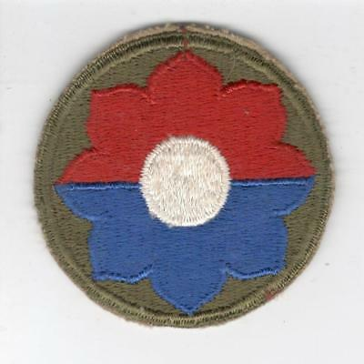 WW 2 US Army 9th Infantry Division Patch Inv# Y980