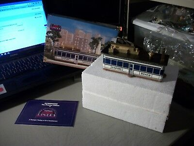 NIB Lefton's GREAT AMERICAN DINERS SERIES EMPIRE DINER 6 INCHES LONG NO. 01174