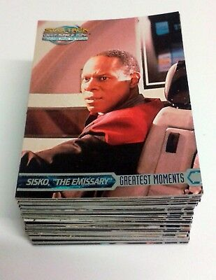 Star Trek DS9 Deep Space Nine Memories From The Future - 100 Card Basic/Base Set