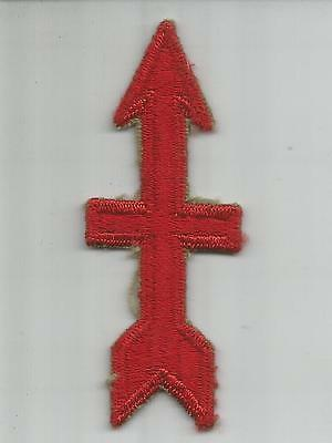 Off Uniform WW 2 US Army 32nd Infantry Division Ribbed Weave Patch Inv# H184