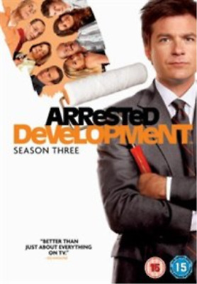 Portia de Rossi, Will Arnett-Arrested Development: Season 3 (UK IMPORT)  DVD NEW