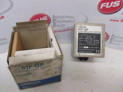 Omron 61F-GP Floatless Level Switch 110 VAC, 50/60Hz - Used Condition