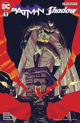 BATMAN AND THE SHADOW #1 1st PRINT SCOTT SNYDER DC BLOWOUT BOX $3.99 COVER PRICE