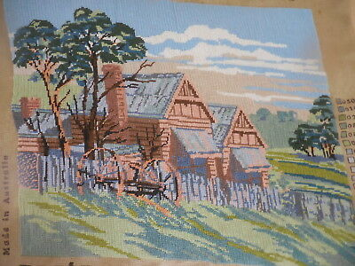 Tapestry Completed Coats Early Settlement Australia Aus_112