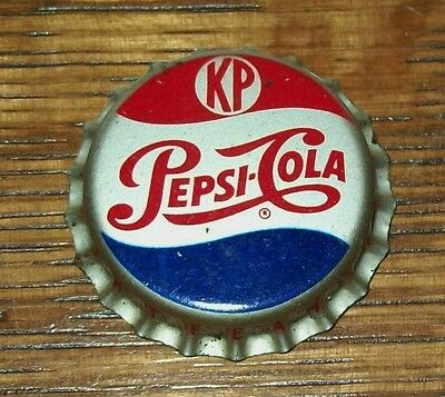 Vintage Pepsi KP 1950's Unused Soda Pop Bottle Cap Cork Back Kosher Product