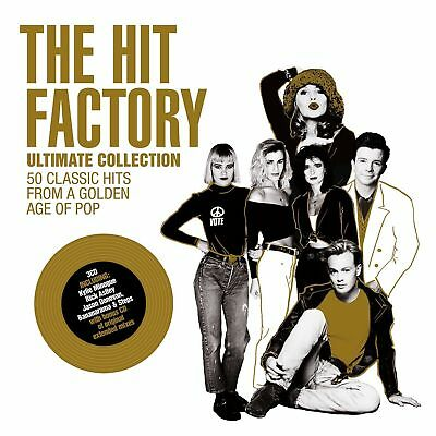THE HIT FACTORY ULTIMATE COLLECTION 3 CD SET VARIOUS ARTISTS (New Release 2017)