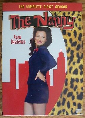 The Nanny - The Complete First Season (DVD, 2005, 3-Disc Set) NEW Sealed