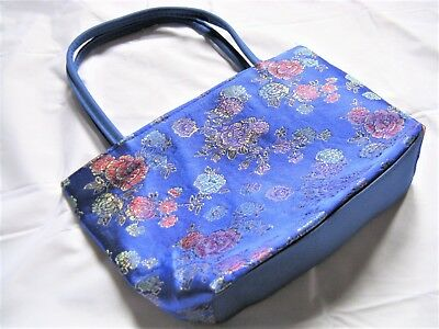 Bulk Lots 20pcs Silk Floral Girl Hand Bags FREE POST