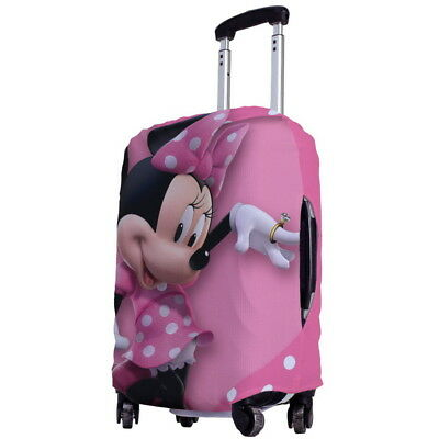 """Minnie Mouse Luggage Protector Elastic Suitcase Cover 18''- 20"""" y64 w1034"""