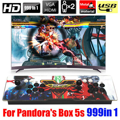 999 Games Double Stick Arcade Console For Pandora's Box 5S+ VGA/ HDMI/USB/AUX
