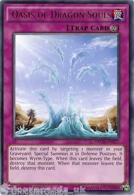 NECH-EN077 Oasis of Dragon Souls Rare 1st Edition Mint YuGiOh Card